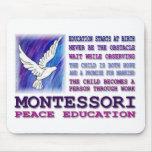 Montessori Dove Mouse Pad