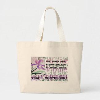 Montessori Iris Large Tote Bag