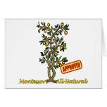 Montessori Lemon Tree Greeting Card