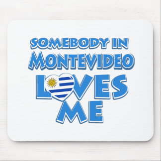 Montevideo design mouse pad