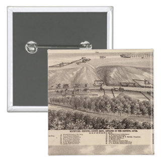 Montevideo, Granite Falls, , Minnesota 15 Cm Square Badge