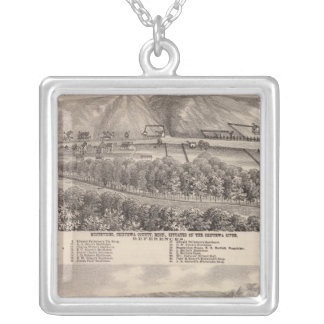Montevideo, Granite Falls, , Minnesota Silver Plated Necklace