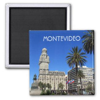 montevideo independencia plaza square magnet