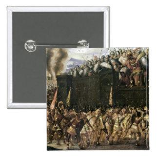 Montezuma 15 Cm Square Badge