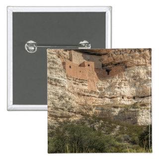 Montezuma Castle National Monument, Arizona 15 Cm Square Badge