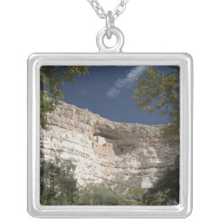 Montezuma Castle National Monument, Arizona 2 Silver Plated Necklace