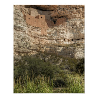 Montezuma Castle National Monument, Arizona Poster