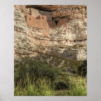 Montezuma Castle National Monument, Arizona Poster