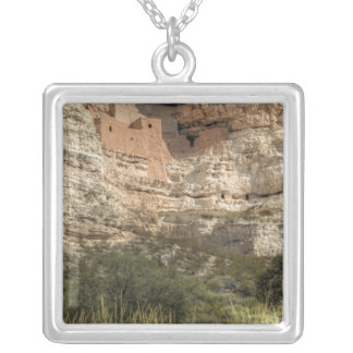 Montezuma Castle National Monument, Arizona Silver Plated Necklace