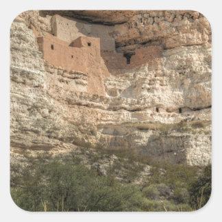 Montezuma Castle National Monument, Arizona Square Sticker