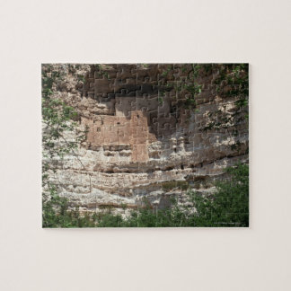 'Montezuma castle Pueblo Village Indian Ruins, Jigsaw Puzzle