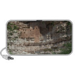 'Montezuma castle Pueblo Village Indian Ruins, Notebook Speaker