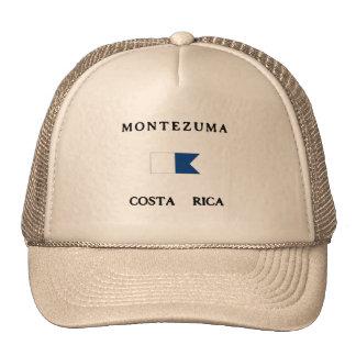 Montezuma Costa Rica Alpha Dive Flag Mesh Hats