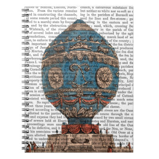 Montgolfier Aerostatique Hot Air Balloon Notebooks