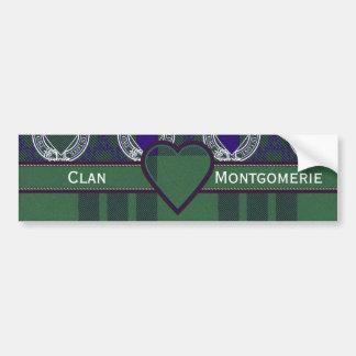 Montgomerie clan Plaid Scottish tartan Bumper Sticker