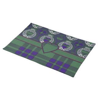 Montgomerie Scottish tartan Placemat