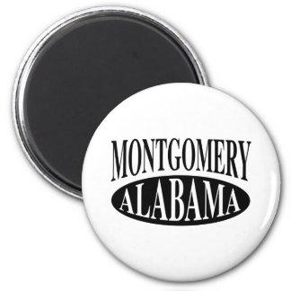 Montgomery Alabama 6 Cm Round Magnet