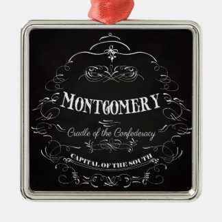 Montgomery Alabama - Cradle of the Confederacy Christmas Ornament