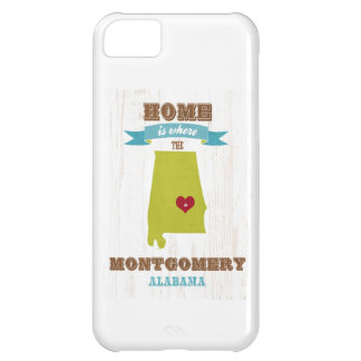 Montgomery, Alabama Map – Home Is Where The Heart iPhone 5C Cases