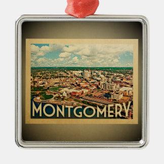 Montgomery Alabama Ornament Vintage Travel