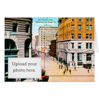 Montgomery and Market St Greeting Card