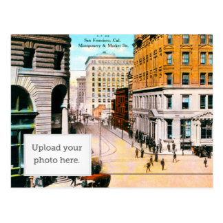 Montgomery and Market St Postcard