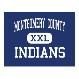 Montgomery County - Indians - Mount Sterling Postcard