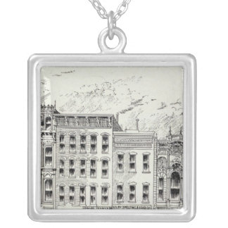 Montgomery East side California and Sacramento Silver Plated Necklace