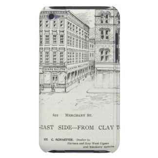 Montgomery East side Clay and Washington Case-Mate iPod Touch Case
