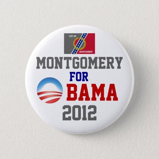 MONTGOMERY for Obama 6 Cm Round Badge