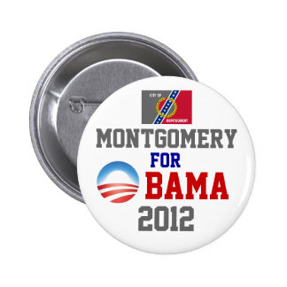 MONTGOMERY for Obama Button