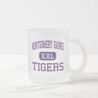 Montgomery Gaines - Tigers - Junior - Montgomery Frosted Glass Mug