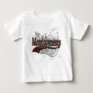 Montgomery Tartan Grunge Baby T-Shirt