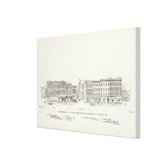 Montgomery West side Sacramento and Clay Canvas Print