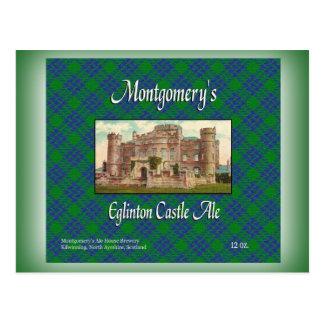 Montgomery's Eglinton Castle Ale Postcard