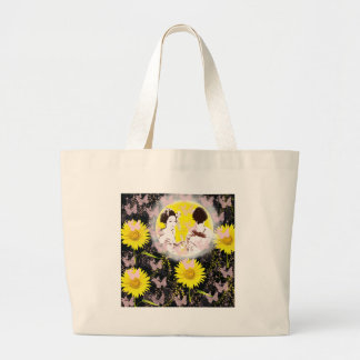Month and Muko mallow and dance 妓 Large Tote Bag