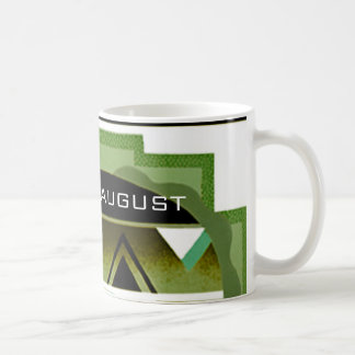 Month of August Art Deco Coffee Mug by Janz