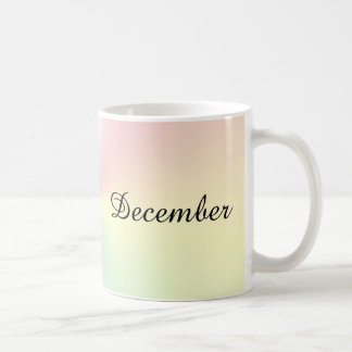 Month of December Shimmer Coffee Mug by Janz