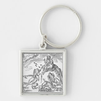 Month of July, from 'The Shepheardes Calender' Key Ring