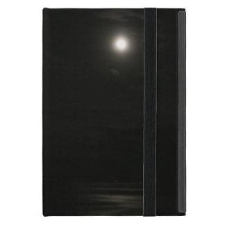 Month of night and sea, Asahi and bird iPad Mini Case