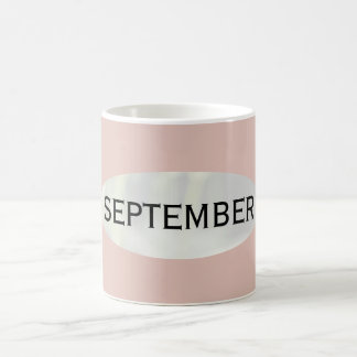 Month of September Thistle Coffee Mug by Janz