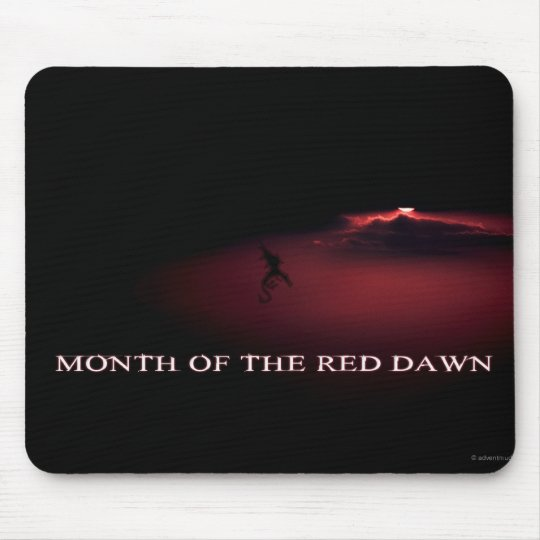 Month of the Red Dawn - January - Cedric Mouse Mat