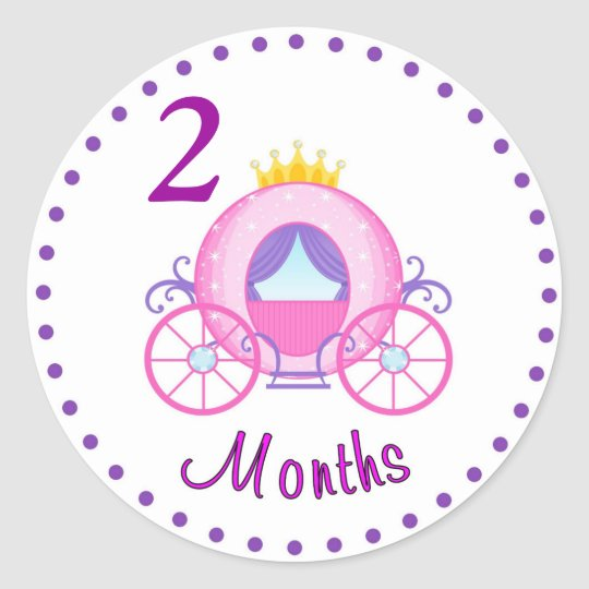 Monthly Baby Sticker Custom Personalised