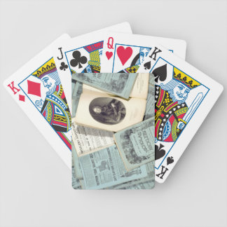 Monthly Issues of 'The Life and Adventures of Nich Bicycle Playing Cards