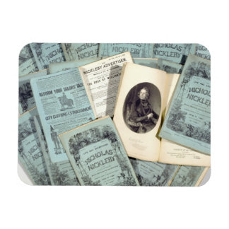 Monthly Issues of 'The Life and Adventures of Nich Rectangular Photo Magnet