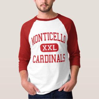 Monticello - Cardinals - Cleveland Heights T-Shirt