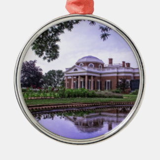 Monticello Reflection Christmas Ornament