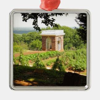 Monticello View Christmas Ornament