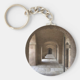 Montjuic Castle, Barcelona Key Ring