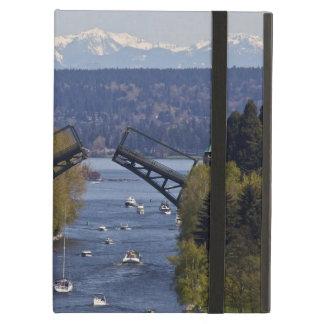 Montlake Bridge and Cascade Mountains iPad Air Case